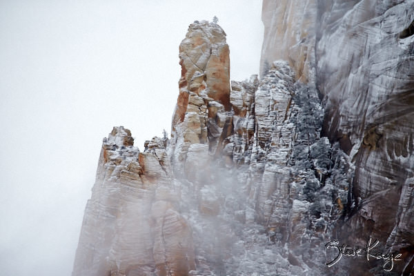 Great White Throne, Zion National Park, (c) Photo by Steve Kaye, in photo article: Zion National Park