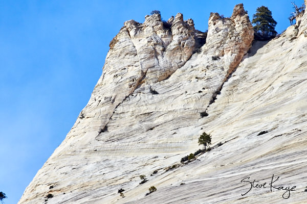 Cathedral Mountain, Zion National Park, (c) Photo by Steve Kaye, in photo article: Zion National Park